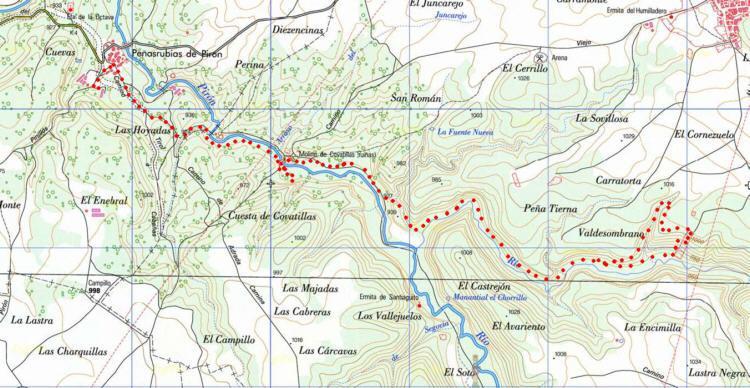 Cañon Del Río Pirón Y Cañon Río Viejo Ruta De Senderismo En Segovia